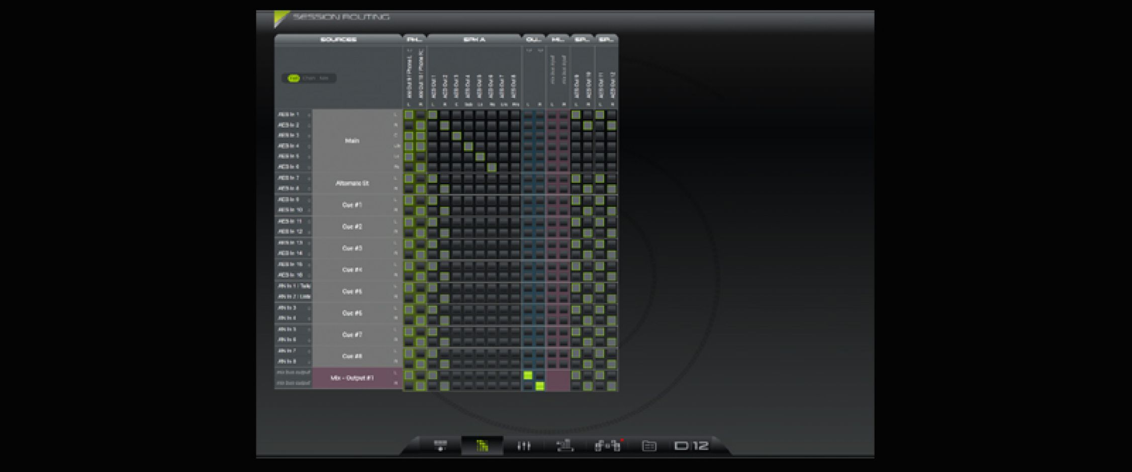 dmon interface